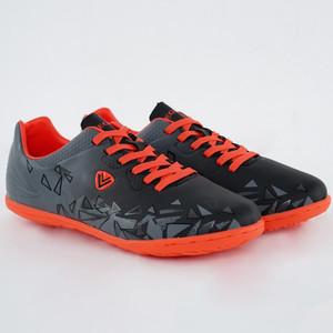 Vegeto Sepatu Futsal Gibran Indoor Black Gray