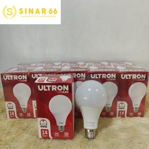 ULTRON BOHLAM LAMPU LED BULB 14W 14 W 14 WATT