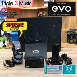 Audient EVO SRB Start Recording Bundle evo 4 Paket Recording rekaman
