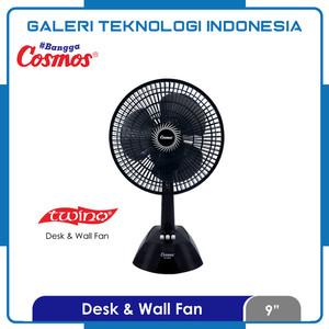 Kipas Angin Duduk / Desk Fan Cosmos 9 LDA 2in1 12inch
