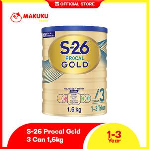 S-26 Procal GOLD Tahap 3 Vanila Susu Pertumbuhan Anak 1-3 Tahun 1600gr
