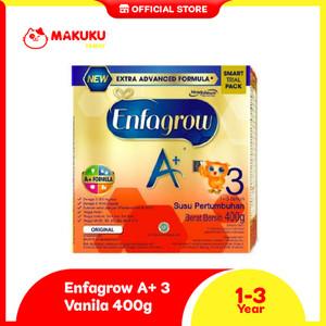 Enfagrow A+ 3 Vanila 400 gr - Susu Formula / Susu Anak 1-3 Tahun