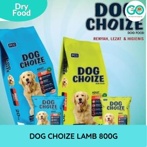 Makanan Anjing Kering DOG CHOIZE ADULT LAMB 800g Dry Food Fresh pack