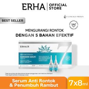erhair Hairgrow Serum 7x8ml - Serum Penumbuh Rambut