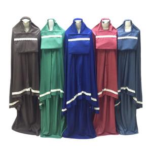 Mukena Dewasa Rayon Polos Renda Premium (Grosir)