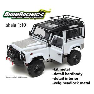 Boom Racing Defender Landrover D90 1/10 4WD ARTR Set
