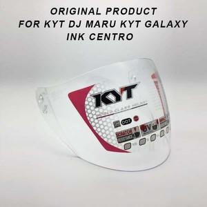 kaca helm ink centro dan kyt dj maru galaxy original