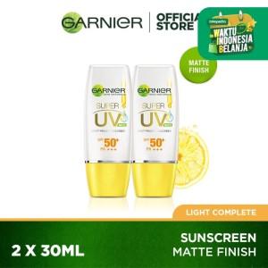 Garnier Super UV Light Complete Sunscreen Twinpack Matte Finish