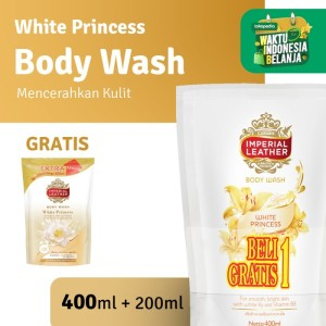 Imperial Leather Body Wash White Princess 400ml - Beli 1 GRATIS 1