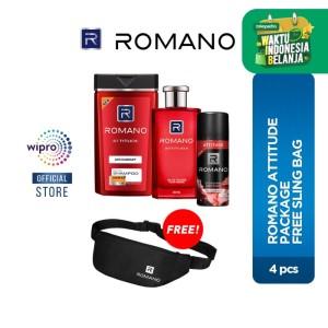 Romano Attitude Package Free Sling Bag