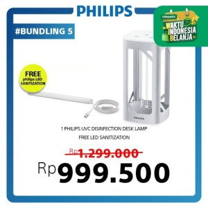 Philips UVC Disinfection Desk Lamp Silver
