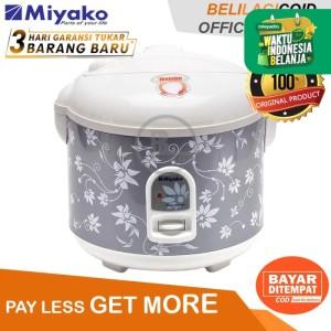 Miyako Magic Com MCM 528 / Rice Cooker MCM 528 - Silver - [1.8L]