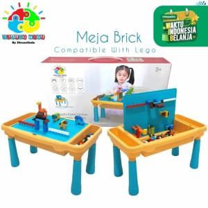 Meja LEGO - Activity LEGO Desk, Included 300 pcs