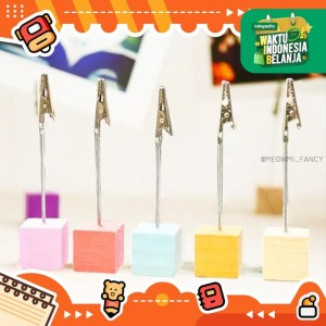 Cube wire clip holder for Photo card note memo MB0032