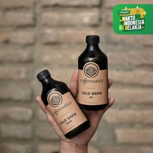 Coffeenatics' Cold Brew - Kopi Hitam Siap Minum | Coffeenatics