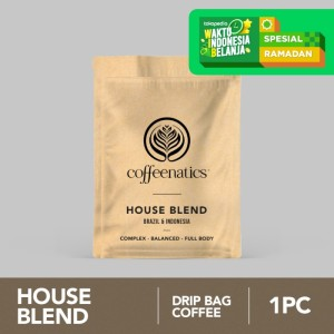 House Blend SSP - Kopi Drip Sachet | Coffeenatics