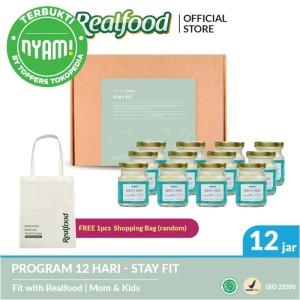 Realfood Stay Fit Program 12 Hari