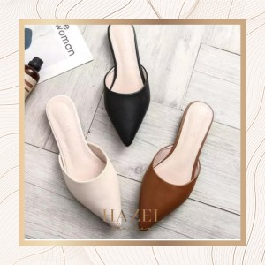 Flatshoes Wanita Casual Pesta Sandal Teplek Cewek Murah Premium Kantor