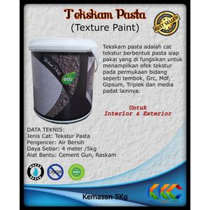 Kemasan 5Kg Cat Tekstur Pasta | Cat Kamprot | Texture Paint