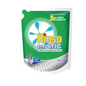 RINSO MATIC LIQ TOP LOAD PCH 1600ML