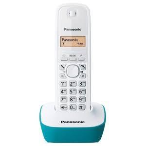 Telephone Wireless Cordless Phone Panasonic KX-TG1611 - Cyan