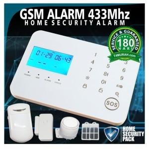 GSM SECURITY ALARM SYSTEM UNTUK PENGAMANAN RUMAH TOKO KANTOR PABRIK
