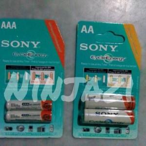 batre recharge sony AA