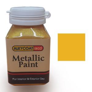 Alkycoat Deco Metallic Paint Cat Dekoratif Metalik 100g - G871 (Gold)