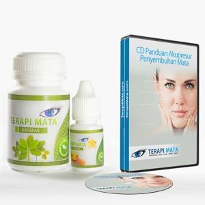 Obat Mata Katarak Herbal + Pijat Accupresure