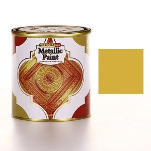ALKYCOAT DECO Metallic Paint Cat Dekoratif Metalik 800gr G870 (EMAS)