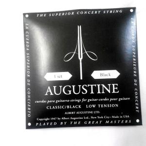 Senar Gitar Nylon Albert Augustine Black Ori Regular/Light Tension