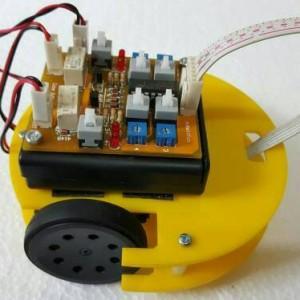 robot Line Tracer follower Analog V2 through hole pcb 4 VR 4 sensor