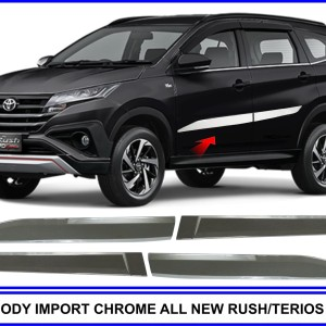 LIST BODY IMPORT CHROME ALL NEW RUSH / TERIOS II 2018
