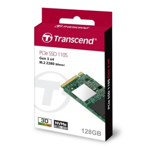 Transcend SSD 128GB M2 NVME TS128GMTE110S