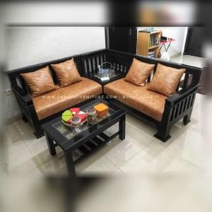 Kursi Tamu Jati Minimalis L BEST SELLER!!! (Furniture Jati)