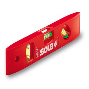 Sola PTM 5 20 Waterpas Magnet Torpedo Plastic Level