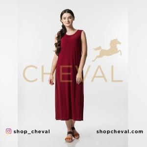 CHEVAL MACY Maxi Dress - size 2XL - Maxi Dress tanpa lengan