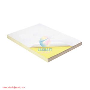 Kertas Stiker Sticker Glossy Chromo Bontax Art Paper A4 Tahan Air