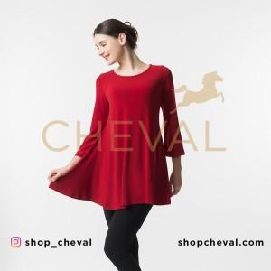 CHEVAL ALMA Dress Top - size XL - Atasan Pajang