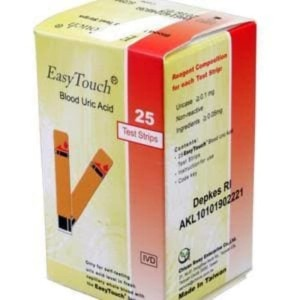 Easy Touch Strip Asam Urat / Uric Acid isi 25