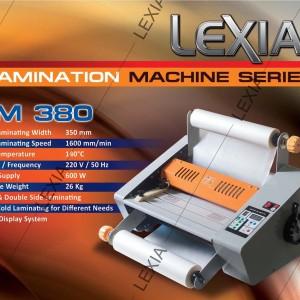 Mesin Laminating Kertas A3 Tipe FM 380 Merek LEXIA