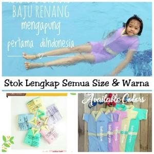 CuddleMe GoSwim / Floating Swimsuit (Baju Renang Berpelampung) Size M