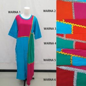Daster Long Dress Sedress Baju Tidur Premium Batik Pekalongan PM 1