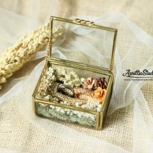 Kotak Cincin | Kotak Perhiasan | Tera Perpans Rustic