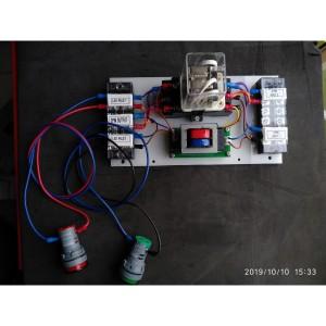 20A ATS relay 2 sumber listrik lengkap dengan pilot lampu