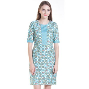 Dress Batik Wanita Rianty Batik Sissy