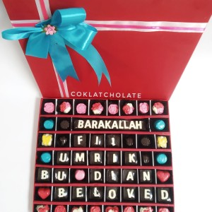 HADIAH COKLAT DALAM BOX BERGAMBAR FREE REQUEST