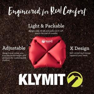 KLYMIT PILLOW X LIFETIME WARRANTY!