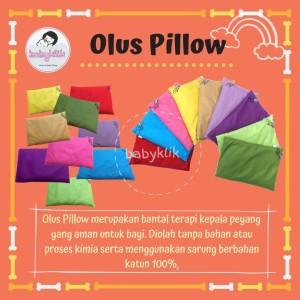 Olus Pillow Bantal Olus untuk Kesehatan Bayi Anti Kepala Peyang