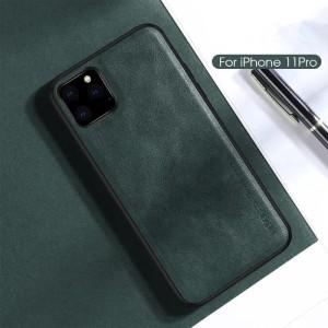 """Iphone 11 Pro Max 6.5"""" X-level Premium Leather Cover Original - Green"""